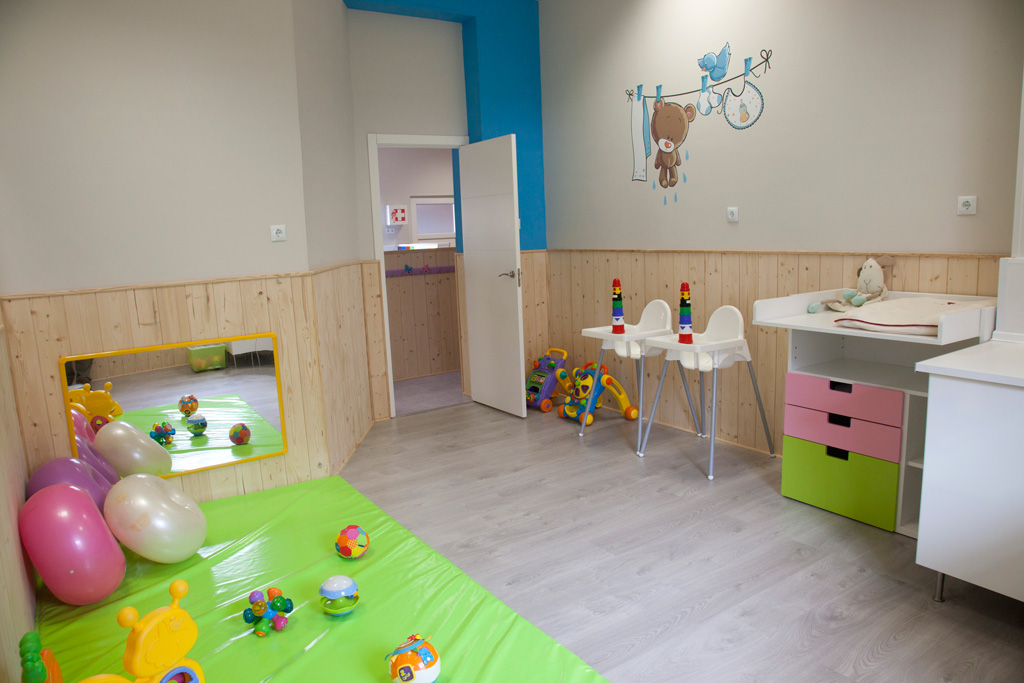 Aulas para Bebés