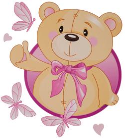 decoracion infantil oso